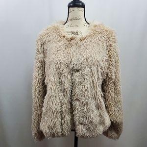 Sanctuary Stella Faux Fur Jacket NWOT Medium